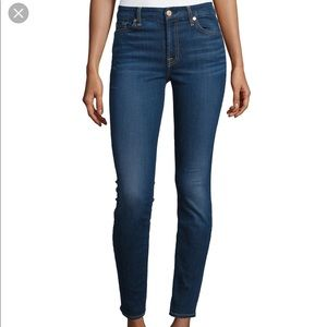 7 for all mankind skinny jeans!